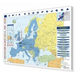Unia Europejska 148x98,5cm. Mapa magnetyczna.