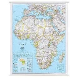 Afryka 99x118 cm Mapa ścienna
