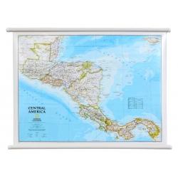 Ameryka Środkowa 78x58cm. Mapa ścienna.