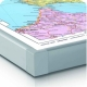 Kraje Basenu Morza Bałtyckiego polityczna 126x154cm. Mapa w ramie aluminiowej.