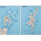 Wielka Brytania (Anglia, Szkocja, Irlandia, Walia) drogowa 88x120cm. Mapa magnetyczna.