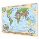 Świat polityczny 197x140cm. Mapa do wpinania.