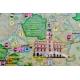Małopolska Ogólnogeograficzna/krajobrazowa 160x120cm. Mapa ścienna dwustronna.