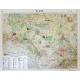 Śląsk ogólnogeograficzna/krajobrazowa 160x120cm. Mapa ścienna dwustronna.
