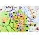 Afryka gospodarcza 106x140cm. Mapa ścienna.