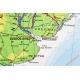 Ameryka Południowa ogólnogeograficzna (fizyczna)/do ćwiczeń 120x160cm. Mapa ścienna dwustronna.