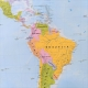 Świat Polityczny 138x95cm. Mapa magnetyczna.