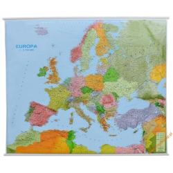 Europa Pol-drog. 1:3,7 mln Jokart Mapa ścienna 155x125cm