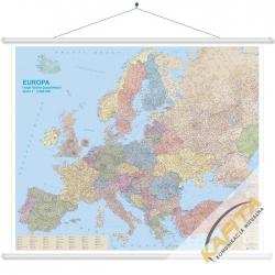 Europa Kodowa 166x140cm. Mapa ścienna.