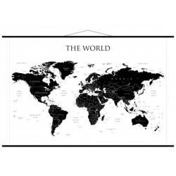 Świat polityczny, konturowy 146x98cm. Mapa ścienna.