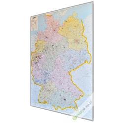 Niemcy kodowa 106x140cm. Mapa magnetyczna.