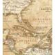 Świat polityczny stylizowany 144x90cm. Mapa do wpinania.