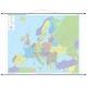 Europa kodowa 218x180cm. Mapa ścienna.