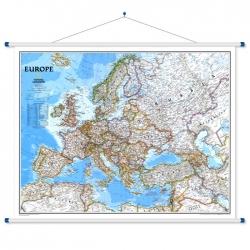 Europa Polityczna 84x60 cm. Mapa ścienna.