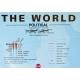 Świat Polityczny 200x123 cm. Mapa magnetyczna.