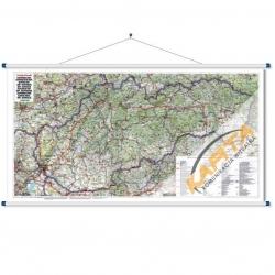 M-DR Słowacja drog.1:400tys. F&B Mapa ścienna