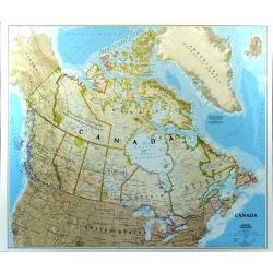 M-DR Kanada 1:6,4 mln NG Mapa scienna 105x83cm