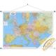 Europa pol-drog.126x90cm. Mapa ścienna