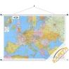 Europa polityczno-drogowa 134x89cm. Mapa ścienna.