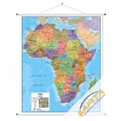 Afryka Polityczna 106x120cm. Mapa ścienna