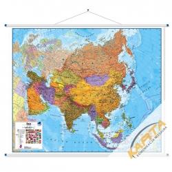 Azja Polityczna 125x102cm Mapa ścienna