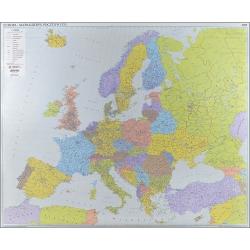 Europa Kodowa 146x120cm. Mapa ścienna.