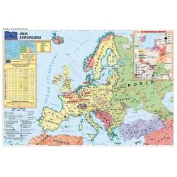Unia Europejska-Strefa Schengen 160x110cm. Mapa ścienna.
