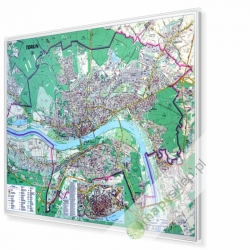 MAG Plan Torunia 1:12 tys. Demart Mapa magnetyczna 153x108cm