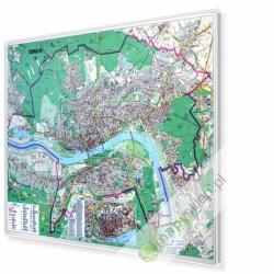 Toruń 153x108cm. Mapa do wpinania