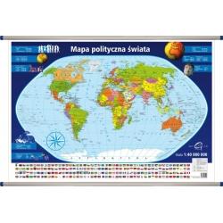 Świat Polityczny 98x70cm. Mapa ścienna.