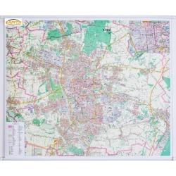 M-DR Łódź 1:20 tys. Demart Mapa ścienna 120x96cm