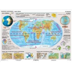 Podstawy kartografii 166x120cm. Mapa ścienna dydaktyczna.
