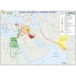 Bliski Wschód w starożytności/ Najstarsze Cywilizacje Świata 140x100cm. Mapa ścienna dwustronna.