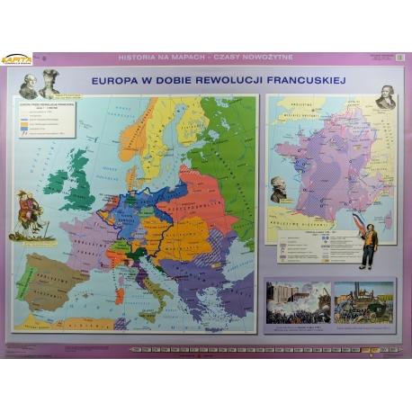 Mapa Sc Dw Europa W Dobie Rew Fr Eur W Epoce Absol Osw 160x120cm Ne