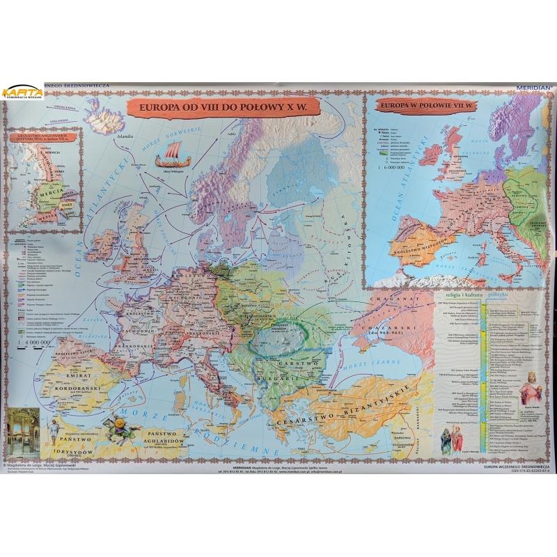 Mapa Scienna Europa Wczesnosredniowieczna Odviiido Pol X 150x110 Mer