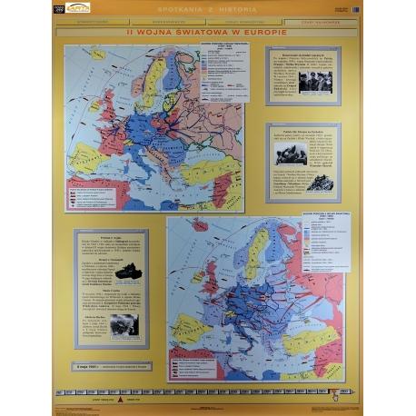 Mapa Sc Dw Ii Wojna Sw W Europ Pol Podczas Ii Wojny Swia 120x160 Ne