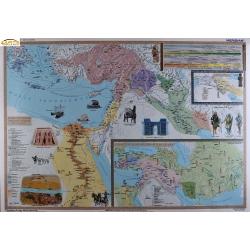 Starożytny Wschód-pierwsze państwa 160x120cm. Mapa ścienna.