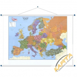 Europa kodowa 160x120cm.Mapa ścienna