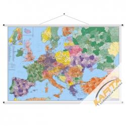 Europa kodowa 146x98cm. Mapa ścienna.