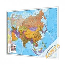 Azja Polityczna 120x100cm. Mapa do wpinania.
