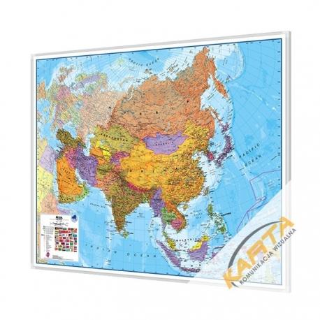 Mapa Do Wpinania Azja Polityczna 1 11 Mln 120x100cm Maps International
