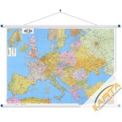 Europa Pol-drog. 170x120cm. Mapa ścienna