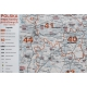 MAL Polska Kodowa 1:600 tys. Jokart Mapa w ramie aluminowej 120x110cm
