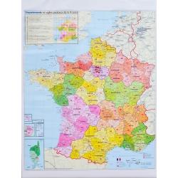 Francja Kodowa 100x140cm