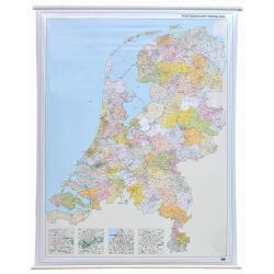 Holandia kodowa 108x132 cm. Mapa ścienna.