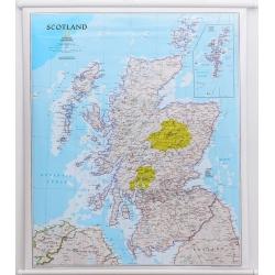 M-DR Szkocja 1:650 tys. NG Mapa scienna 78x92 cm