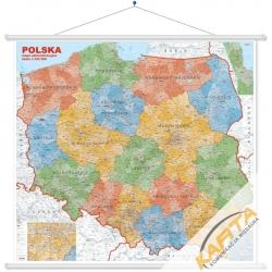 M-DR Polska Administra 1:350 tys. Jokart Mapa ścienna