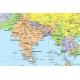 M-DR Świat Polityczny 1:35 mln. F&B Mapa ścienna 123x87cm