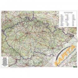 M-DR Czechy drogowa 1:400 tys. F&B Mapa scienna