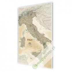 Włochy exclusive 65x88cm. Mapa magnetyczna.